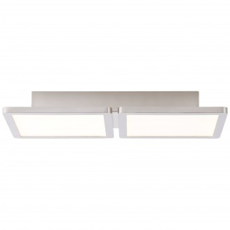 BRILLIANT G90117/13 | Scope-BRI Brilliant stropné svietidlo 1x LED 1800lm 3000K matný nikel, biela