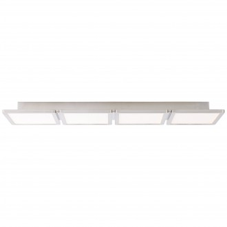 BRILLIANT G90118/13 | Scope-BRI Brilliant stropné svietidlo 1x LED 3300lm 3000K saténový nike, biela