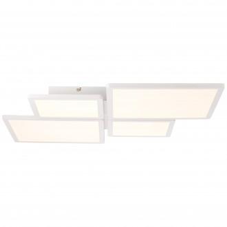 BRILLIANT G90123/05 | Scope-BRI Brilliant stropné svietidlo diaľkový ovládač regulovateľná intenzita svetla 1x LED 4400lm 3000K biela