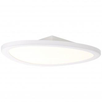 BRILLIANT G90192/05 | Stone-BRI Brilliant stropné svietidlo diaľkový ovládač regulovateľná intenzita svetla 1x LED 2195lm 2700 <-> 6200K biela