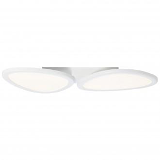 BRILLIANT G90284/05 | Stone-BRI Brilliant stropné svietidlo diaľkový ovládač regulovateľná intenzita svetla 1x LED 3700lm 2700 <-> 6200K biela