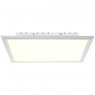 BRILLIANT G90326/21 | Flat-WiZ Brilliant stropné svietidlo regulovateľná intenzita svetla 1x LED 2500lm 2700 <-> 6200K hliník, biela