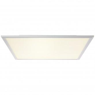 BRILLIANT G90327/21 | Flat-WiZ Brilliant stropné svietidlo regulovateľná intenzita svetla 1x LED 3310lm 2700 <-> 6200K hliník, biela
