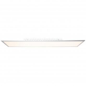 BRILLIANT G90328/21 | Flat-WiZ Brilliant stropné svietidlo regulovateľná intenzita svetla 1x LED 3650lm 2700 <-> 6200K hliník, biela