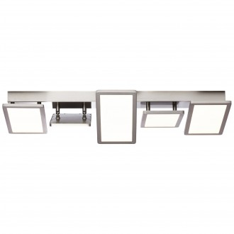 BRILLIANT G90341/68 | Scope-BRI Brilliant stropné svietidlo otočné prvky 1x LED 6100lm 3000K matný nikel