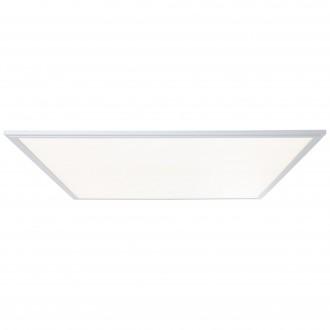 BRILLIANT G90370/21 | Flat-WiZ Brilliant stropné svietidlo regulovateľná intenzita svetla 1x LED 4800lm 2700 <-> 6200K hliník, biela