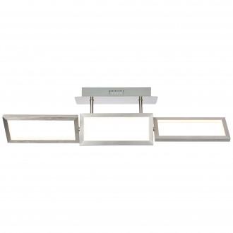 BRILLIANT G93451/21 | Tunar Brilliant stropné svietidlo dotykový prepínač s reguláciou svetla otočné prvky 1x LED 2100lm 3000K hliník