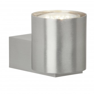 BRILLIANT G94442/21 | Izon Brilliant rameno stenové svietidlo 1x GU10 250lm 3000K hliník