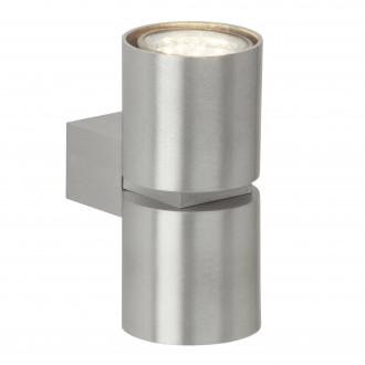 BRILLIANT G94444/21 | Izon Brilliant rameno stenové svietidlo 2x GU10 500lm 3000K hliník