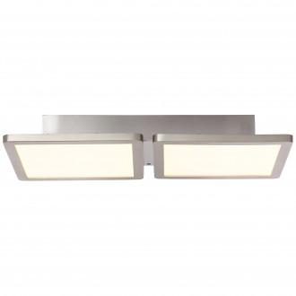 BRILLIANT G96801/68 | Scope-WiZ Brilliant stropné svietidlo regulovateľná intenzita svetla 1x LED 1800lm 2700 <-> 6200K matný nikel