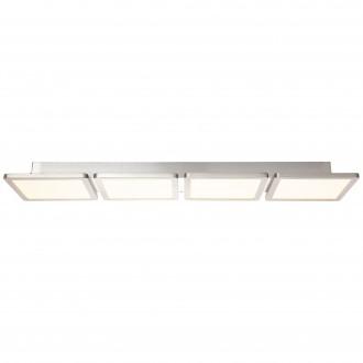 BRILLIANT G96802/68 | Scope-WiZ Brilliant stropné svietidlo regulovateľná intenzita svetla 1x LED 3300lm 2700 <-> 6200K matný nikel