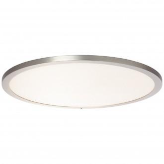 BRILLIANT G96809/68 | Smooth-WiZ Brilliant stropné svietidlo regulovateľná intenzita svetla 1x LED 3800lm 2700 <-> 6200K matný nikel