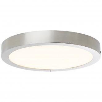 BRILLIANT G96810/68 | Katalina-WiZ Brilliant stropné svietidlo regulovateľná intenzita svetla 1x LED 2160lm 2700 <-> 6500K matný nikel