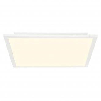 BRILLIANT G98817/05 | Flavia Brilliant stropné svietidlo diaľkový ovládač regulovateľná intenzita svetla 1x LED 3500lm 2700 <-> 6500K biela