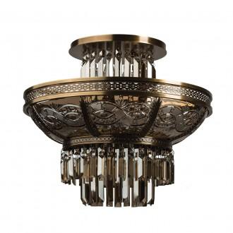 CHIARO 340011308   Diana-MW Chiaro stropné svietidlo 8x E14 5160lm mosadz, bronzová topaz