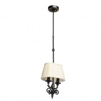 CHIARO 401010402   Victoria-MW Chiaro visiace svietidlo 2x E14 1290lm antická čierna, krémové