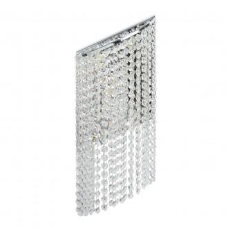 CHIARO 437022105   Clarissa-MW Chiaro stenové svietidlo 1x LED 1320lm 3200K chróm, krištáľ