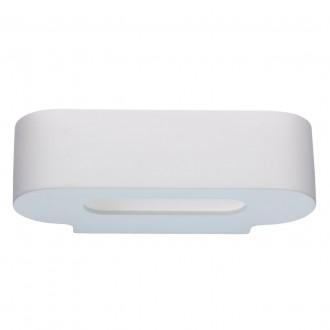 DE MARKT 499022701 | Baruth De Markt stenové svietidlo 1x E14 430lm biela