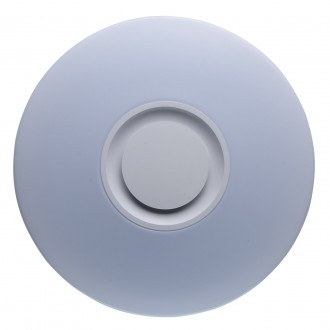 DE MARKT 660012201 | Norden De Markt stropné svietidlo kruhový regulovateľná intenzita svetla, nastaviteľná farebná teplota, Bluetooth, nočné svetlo 1x LED 4320lm 3000 <-> 6000K biela, opál