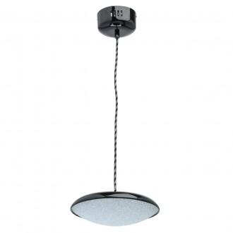 DE MARKT 703011201   Omega-MW De Markt visiace svietidlo 1x LED 800lm 3000K čierna, kryštálový efekt