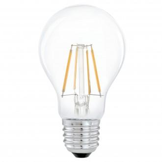 EGLO 11491 | E27 4W -> 31W Eglo normálne A60 LED svetelný zdroj filament 350lm 2700K 360° CRI>80