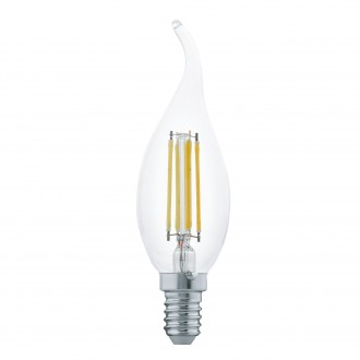 EGLO 11497 | E14 4W -> 30W Eglo sviečka - dekor FC35 LED svetelný zdroj filament 350lm 2700K 360° CRI>80