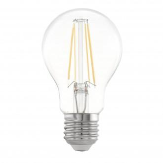 EGLO 11501 | E27 5W -> 48W Eglo normálne A60 LED svetelný zdroj filament 600lm 2700K 360° CRI>80