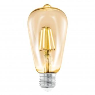 EGLO 11521 | E27 4W -> 22W Eglo Edison ST64 LED svetelný zdroj filament 220lm 2200K 360° CRI>80