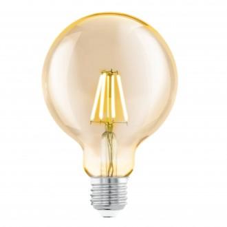 EGLO 11522 | E27 4W -> 30W Eglo veľká guľa G95 LED svetelný zdroj filament 330lm 2200K 360° CRI>80