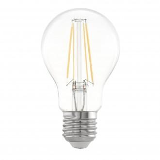 EGLO 11534 | E27 6,5W -> 63W Eglo normálne A60 LED svetelný zdroj filament 810lm 2700K 360° CRI>80