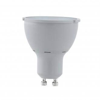 EGLO 11542 | GU10 5W -> 65W Eglo spot LED svetelný zdroj Step Dim. 400lm 4000K regulovateľná intenzita svetla impulzový prepínač 30° CRI>80