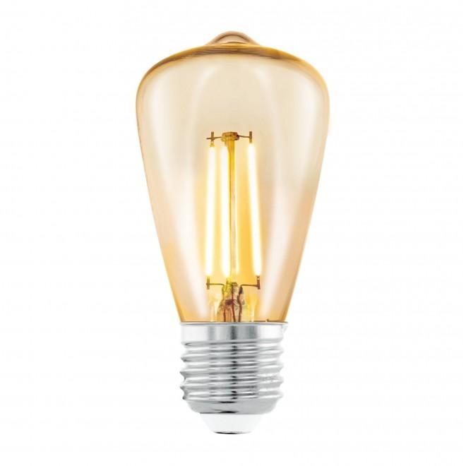 EGLO 11553 | E27 3,5W -> 22W Eglo Edison ST48 LED svetelný zdroj filament 220lm 2200K 360° CRI>80
