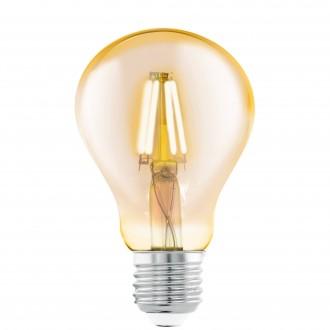 EGLO 11555 | E27 4W -> 30W Eglo normálne A75 LED svetelný zdroj filament 320lm 2200K 360° CRI>80
