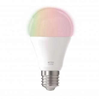 EGLO 11586 | E27 9W -> 60W Eglo normálne A60 LED svetelný zdroj mudré osvetlenie 806lm 2700 <-> 6500K regulovateľná intenzita svetla, nastaviteľná farebná teplota, meniace farbu CRI>80