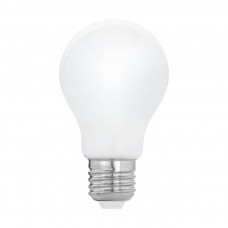 EGLO 11595 | E27 5W -> 40W Eglo normálne A60 LED svetelný zdroj filament, milky 470lm 2700K 360° CRI>80