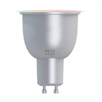 EGLO 11671 | GU10 5W -> 29W Eglo spot LED svetelný zdroj múdre osvetlenie 400lm 2700 <-> 6500K regulovateľná intenzita svetla, nastaviteľná farebná teplota, meniace farbu 70° CRI>80