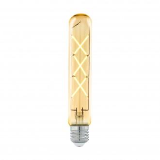 EGLO 11679 | E27 4W -> 33W Eglo hriadeľ T30 LED svetelný zdroj filament 360lm 2200K 360° CRI>80