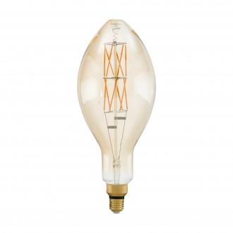 EGLO 11685 | E27 8W -> 60W Eglo E140 LED svetelný zdroj filament, BigSize 806lm 2100K regulovateľná intenzita svetla 360° CRI>80