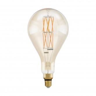 EGLO 11686 | E27 8W -> 60W Eglo PS160 LED svetelný zdroj filament, BigSize 806lm 2100K regulovateľná intenzita svetla 360° CRI>80