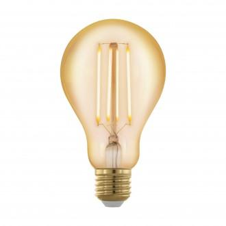 EGLO 11691 | E27 4W -> 30W Eglo normálne A75 LED svetelný zdroj filament, golden age 320lm 1700K regulovateľná intenzita svetla 360° CRI>80