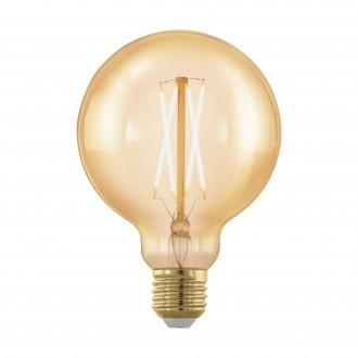 EGLO 11693 | E27 4W -> 30W Eglo veľká guľa G95 LED svetelný zdroj filament, golden age 320lm 1700K regulovateľná intenzita svetla 360° CRI>80