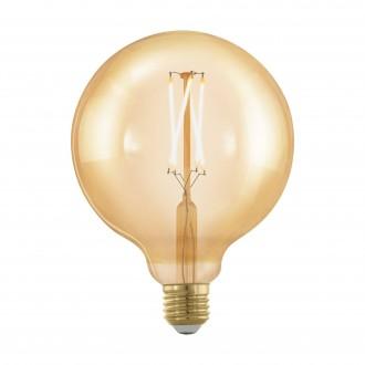 EGLO 11694 | E27 4W -> 30W Eglo veľká guľa G125 LED svetelný zdroj filament, golden age 320lm 1700K regulovateľná intenzita svetla 360° CRI>80