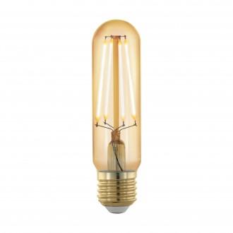 EGLO 11697 | E27 4W -> 30W Eglo hriadeľ T32 LED svetelný zdroj filament, golden age 320lm 1700K regulovateľná intenzita svetla 360° CRI>80