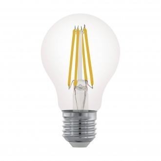 EGLO 11701 | E27 6W -> 60W Eglo normálne A60 LED svetelný zdroj filament 806lm 2700K regulovateľná intenzita svetla 360° CRI>80
