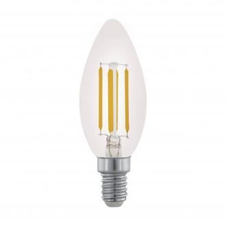 EGLO 11704 | E14 3,5W -> 32W Eglo sviečka C35 LED svetelný zdroj filament 350lm 2700K regulovateľná intenzita svetla 360° CRI>80