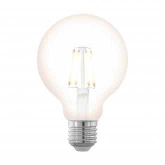EGLO 11706 | E27 4W -> 32W Eglo veľká guľa G80 LED svetelný zdroj filament, northern lights 390lm 2200K regulovateľná intenzita svetla 360° CRI>80