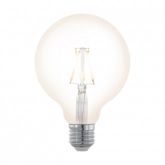 EGLO 11707 | E27 4W -> 32W Eglo veľká guľa G95 LED svetelný zdroj filament, northern lights 390lm 2200K regulovateľná intenzita svetla 360° CRI>80