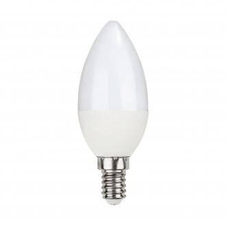 EGLO 11711 | E14 5W -> 40W Eglo sviečka C35 LED svetelný zdroj Relax & Work 470lm 2700 - 4000K regulovateľná intenzita svetla, nastaviteľná farebná teplota impulzový prepínač 230° CRI>80