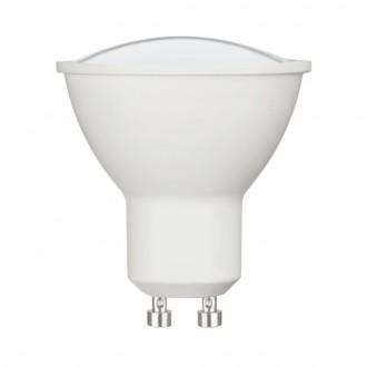 EGLO 11712 | GU10 5W -> 35W Eglo spot LED svetelný zdroj Relax & Work 400lm 2700<->4000K regulovateľná intenzita svetla, nastaviteľná farebná teplota impulzový prepínač CRI>80