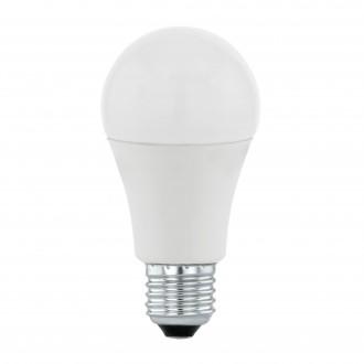 EGLO 11714 | E27 9,5W -> 60W Eglo normálne A60 LED svetelný zdroj Day & Night 806lm 3000K svetelný senzor - súmrakový spínač 170° CRI>80